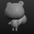 squirrel.PNG Download free STL file Animal Crossing Marshal • 3D print template, skelei