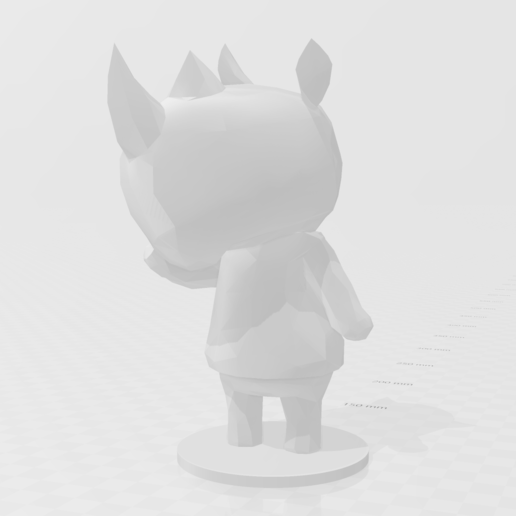 merengue.PNG Download free STL file Merengue from Animal Crossing • 3D print template, skelei