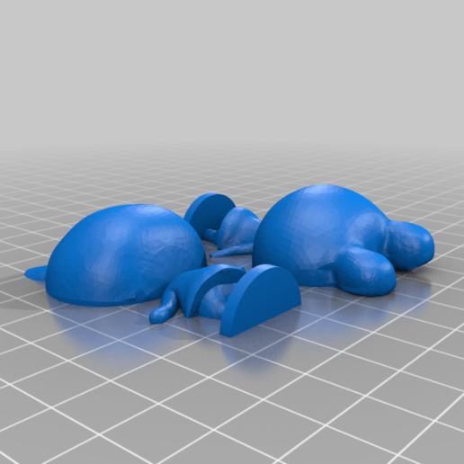 lily_split.png Download free STL file Lily - Animal Crossing • 3D print design, skelei