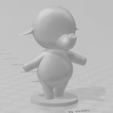 ellie.PNG Download free STL file Tia and Ellie - Animal Crossing • 3D printable model, skelei