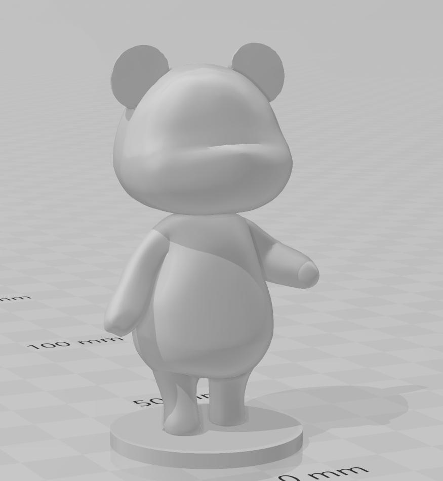 megan.PNG Download free STL file Megan - Animal Crossing • 3D printable model, skelei