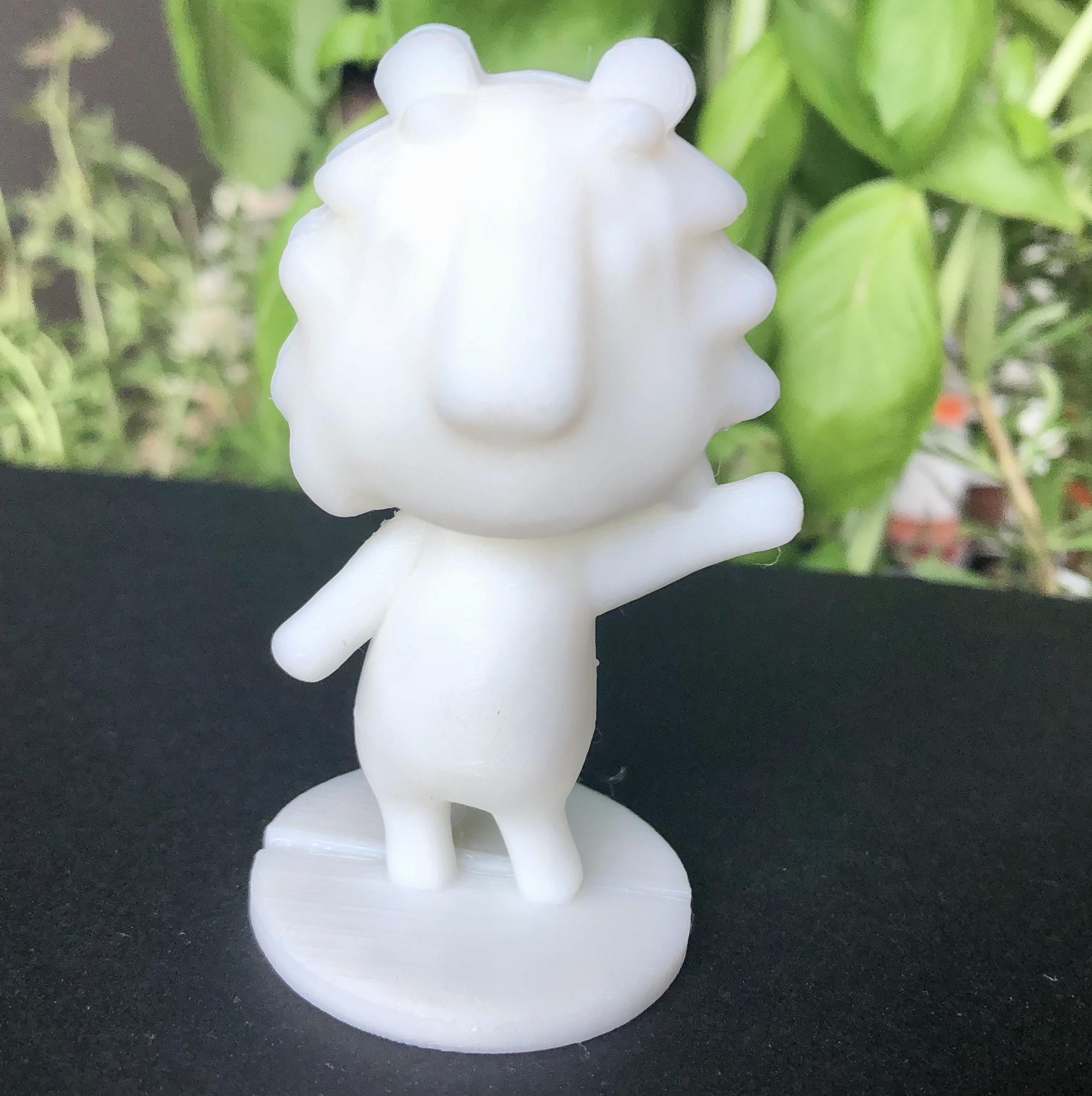 IMG_5542.jpg Download free STL file Rex - Animal Crossing • 3D printable object, skelei