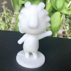 Descargar modelo 3D gratis Rex - Animal Crossing, skelei