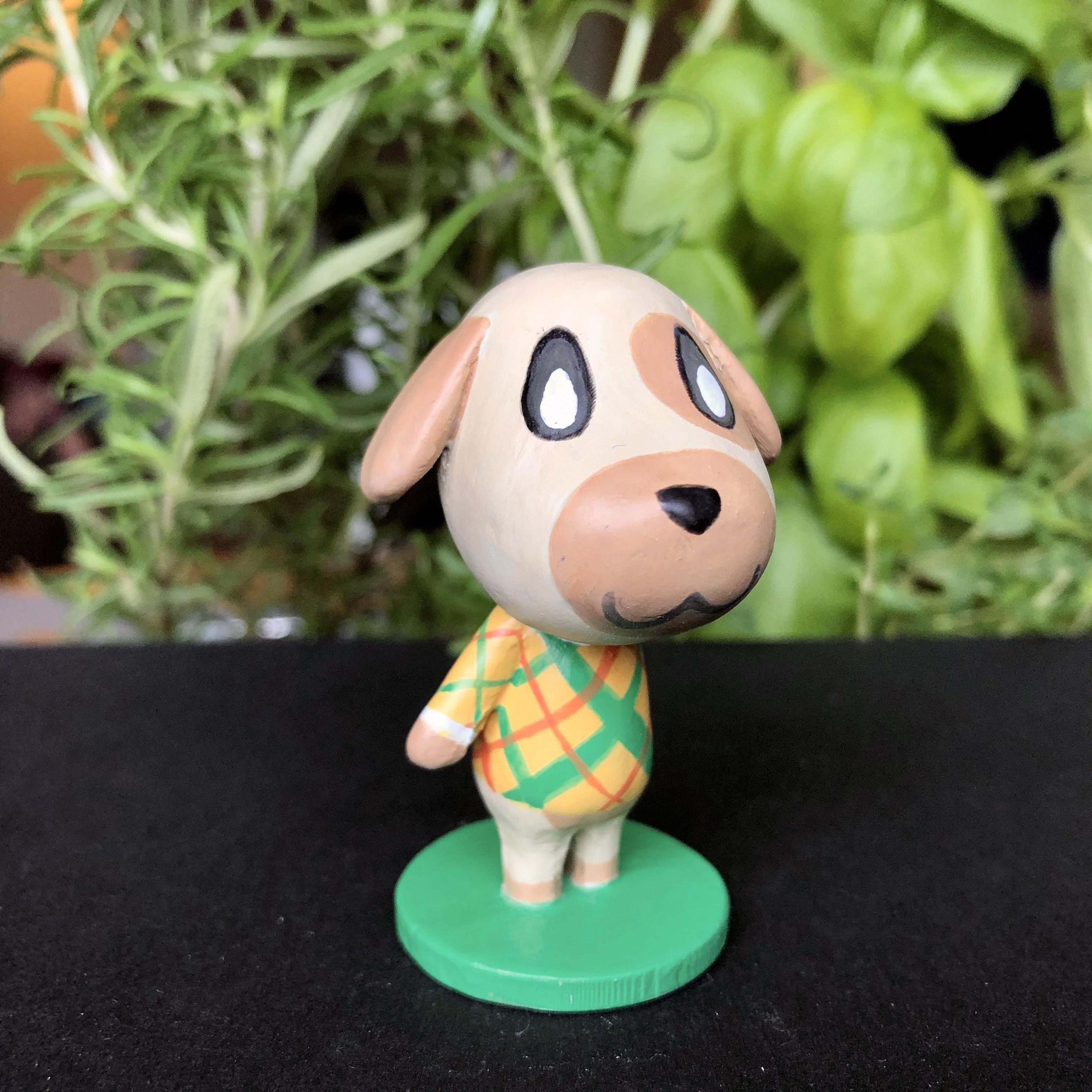 IMG_5611.jpg Download free STL file Goldie Animal Crossing • Template to 3D print, skelei