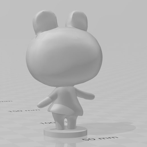 lily.PNG Download free STL file Lily - Animal Crossing • 3D print design, skelei