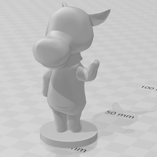reneigh.PNG Download free STL file Roscoe - Animal Crossing • Template to 3D print, skelei