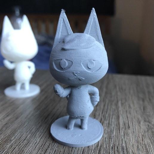 IMG_5898.jpg Download free STL file Raymond Animal Crossing Version 2! • 3D printing object, skelei
