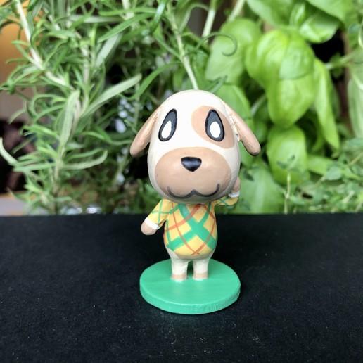 IMG_5612.jpg Download free STL file Goldie Animal Crossing • Template to 3D print, skelei