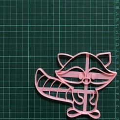 IMG-5926.jpg Download STL file Racoon Cookie Cutter • 3D printing design, martinezailen98