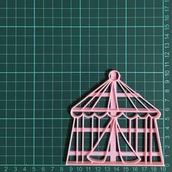 Download 3D printing templates Circus Tent, martinezailen98
