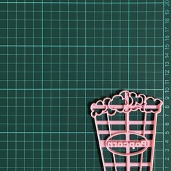 IMG-5963.jpg Download STL file Popcorn Cookie Cutter • Template to 3D print, martinezailen98