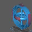 Télécharger fichier STL gratuit Gyroscope à 4 axes • Modèle à imprimer en 3D, ragi_shadow