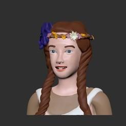 ann1.jpg Télécharger fichier STL Anne avec un modèle e 3d • Objet pour impression 3D, josucortez