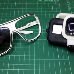 20201223_215539.jpg Télécharger fichier STL Cadre de filtrage ND GoPro Hero 8 BRICOLAGE. • Plan à imprimer en 3D, Luchoj52
