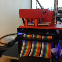 Imprimir en 3D gratis Soporte para el detector de filamentos CR-10-Max, Predor