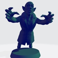 vampiro 6 ok.jpg Download STL file Vampire bb Nosferatu No. 6 • 3D printable design, calaverd