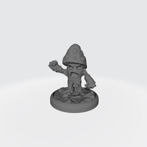 Setitas-Halfing(7).jpg Download free STL file Custom Halfling BB Equipment (Mushroom Men) • 3D printer template, calaverd