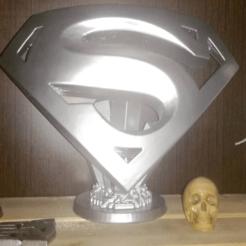 Screensh47.png Download STL file Superman logo • 3D printable design, calaverd