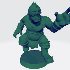 Ogro 5.jpg Télécharger fichier STL Ogre Version 5 pour BB- Ogre équipe humaine • Modèle à imprimer en 3D, calaverd
