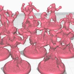 elfos 1.png Download STL file Elves pro • 3D print model, calaverd