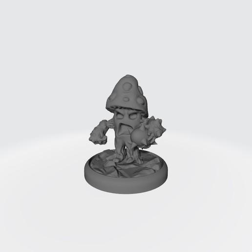 Setitas-Halfing(2).jpg Download free STL file Custom Halfling BB Equipment (Mushroom Men) • 3D printer template, calaverd