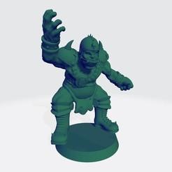 Ogro 1.jpg Télécharger fichier STL Ogre Version 1 pour BB- Ogre équipe humaine • Objet à imprimer en 3D, calaverd