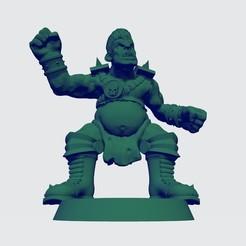 Ogro 3.jpg Télécharger fichier STL Ogre Version 3 pour BB- Ogre équipe humaine • Modèle pour imprimante 3D, calaverd
