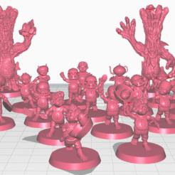 Sin título.png Download STL file Halfling BB Team • 3D printing template, calaverd