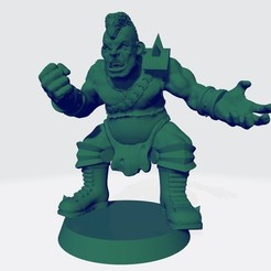 Ogro 2.jpg Télécharger fichier STL Ogre Version 2 pour BB- Ogre équipe humaine • Modèle pour impression 3D, calaverd