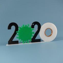 2020-Ornaments-2.jpg Download STL file 2020 Ornament  • 3D printer object, tsweet730