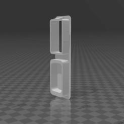 Sin título1.png Télécharger fichier STL Cache-clef du levier en cristal de la BMW E36 • Plan imprimable en 3D, CTRLZ