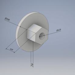 Sin título.png Télécharger fichier STL Clip à visser sur le garde-boue de la BMW • Plan pour imprimante 3D, CTRLZ