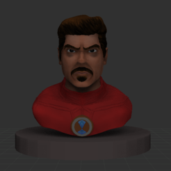 Captura1.PNG Download OBJ file Tony stark • 3D printing design, jorgejoel-full