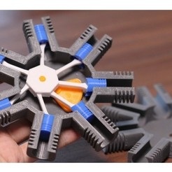 Télécharger objet 3D gratuit Modèle de moteur radial à 7 cylindres, MinMunchKin