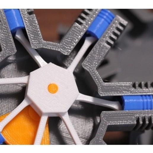2.jpg Télécharger fichier STL gratuit Modèle de moteur radial à 7 cylindres • Design pour imprimante 3D, MinMunchKin