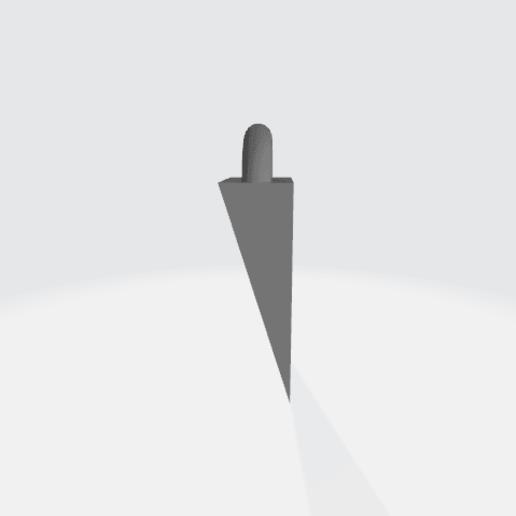 Türstopper  seite.png Download free OBJ file Türstopper  • Template to 3D print, alexanderer40