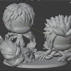 Download 3D printer templates Sasori akatsuki Diorama, geekmexicali