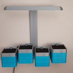 20200821_182535.jpg Télécharger fichier STL Potager d'intérieur à Led • Modèle à imprimer en 3D, cedricdecool