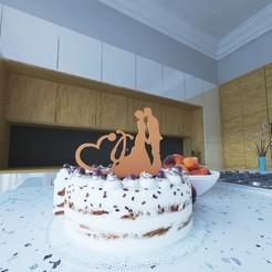 Download STL file Toper cake • 3D printable object, josebenja