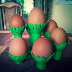 Télécharger fichier STL gratuit Stand modulaire pour les œufs de Pâques, Kaashul