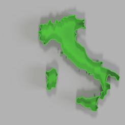 italia 2.png Download free STL file STAMPO ITALIA • 3D printer object, elementootto