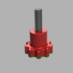 Download free STL file MANOPOLA DI FISSAGGIO • 3D printing template, elementootto