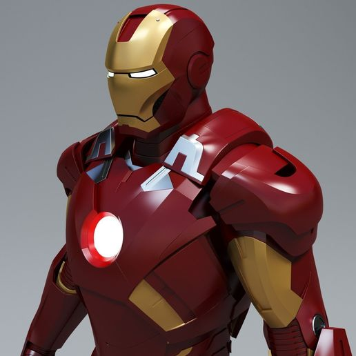 iron_man.jpg Download free STL file Hero • 3D printable object, ankurpatel0427