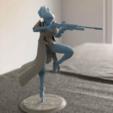 Download free STL file Ana Amari - Overwatch • 3D print template, beauforrez
