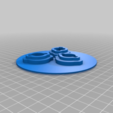Download free 3D printer designs Modular AirBrush Holder-Cleaner with 3 holes, derart