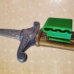 20200524_144807.jpg Télécharger fichier STL Clip de ceinture pour les enfants pour les épées jouets • Objet pour imprimante 3D, HostagePotatoChips