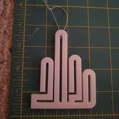 2020 measurements.jpg Download STL file 2020 Finger Christmas Ornament • 3D printable template, HostagePotatoChips