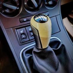 IMG_20200512_134816.jpg Download STL file Shifter Knob - Mazda & Wankel • 3D print design, Antotabo