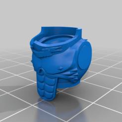 SangGuardTorso3.png Télécharger fichier STL gratuit Gardes de Sang - torse • Modèle imprimable en 3D, Locust12