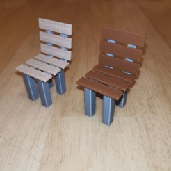 IMG_20200830_155855.jpg Télécharger fichier STL Gartenstuhl / Chaise de jardin • Objet imprimable en 3D, RH-creations